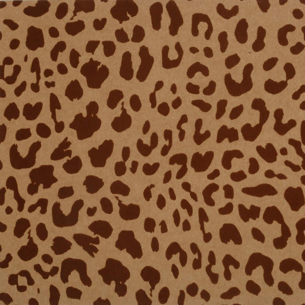 Leopard mobile circle caramel